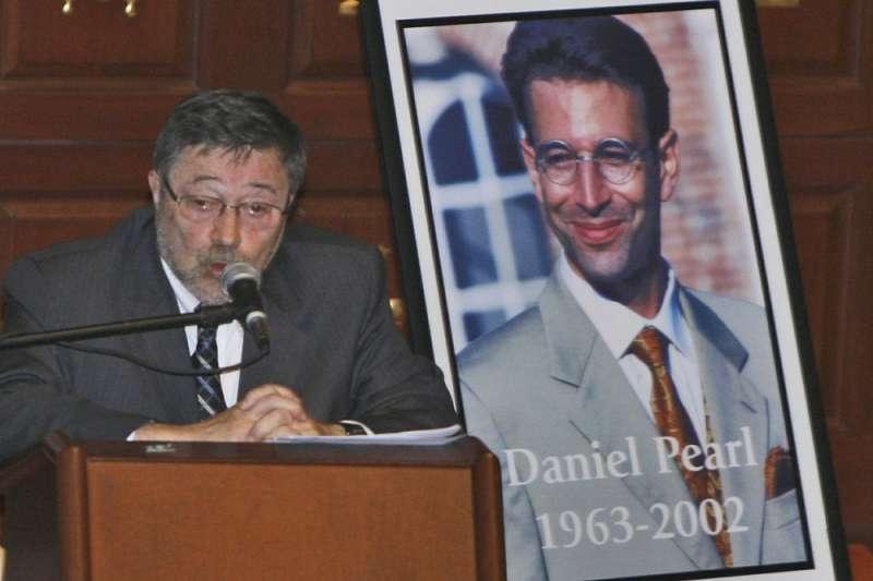《華爾街日報》南亞分社社長丹尼爾.珀爾2002年遭恐怖份子綁架撕票。(AP)