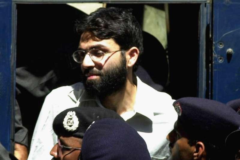 綁架《華爾街日報》南亞分社社長丹尼爾.珀爾的英籍伊斯蘭恐怖分子艾哈邁德.奧瑪爾.賽伊德.謝赫。(AP)