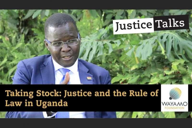 烏干達人權律師奧皮約(Nicholas Opiyo)。(翻攝Youtube)