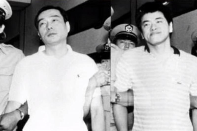 20201229-陳啓禮吳敦被捕。(youtube截圖)