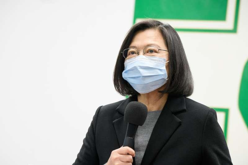 民進黨主席、總統蔡英文要民進黨對黃捷罷免案一定要「守住」。(民進黨中央提供)