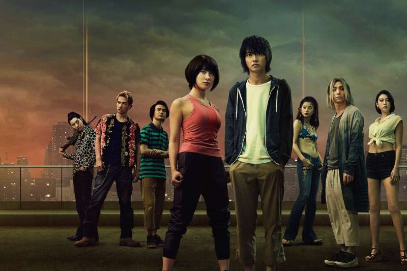 Netflix上的《今際之國的闖關者》(今際の国のアリス)為漫改日劇,上線一週就奪下台灣及日本的排行榜冠軍。(圖/生鮮時書)
