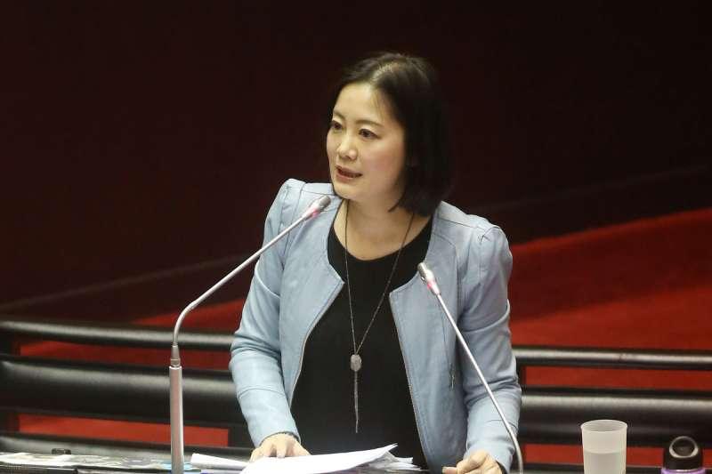 吳思瑤成為藍營罷免立法委員的首要目標之一。(新新聞資料照)