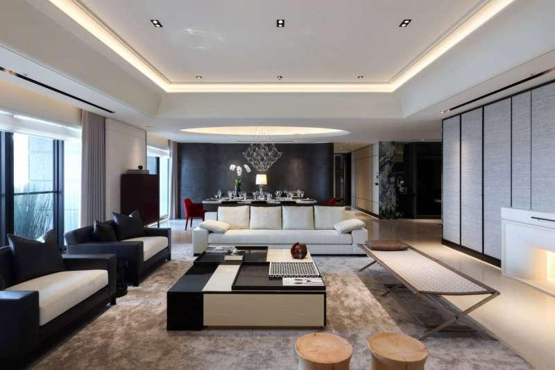 20201230-寶璽天睿公開要價2億元的26樓185坪實品屋。(寶璽建設提供)