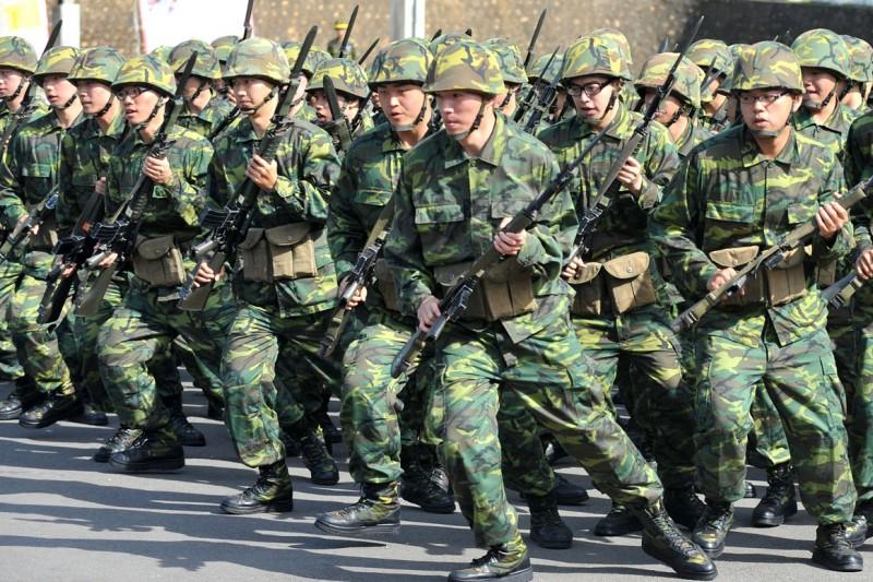 台灣的防衛動員制度未隨著台海戰爭實況精進,一直受到美國軍方高度關切。(林瑞慶攝)