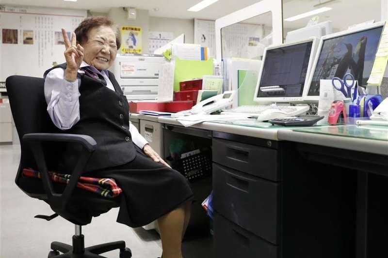 全球最高齡主管玉置泰子仍不想退休(圖/共同通信社 FB)