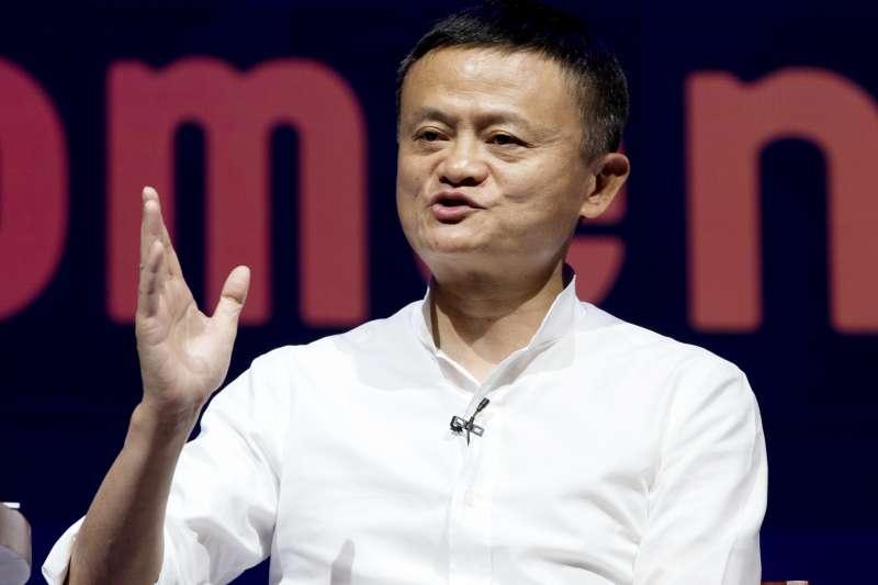 中國政府加強監管螞蟻集團與電商阿里巴巴,圖為兩個集團的創辦人馬雲。(AP)