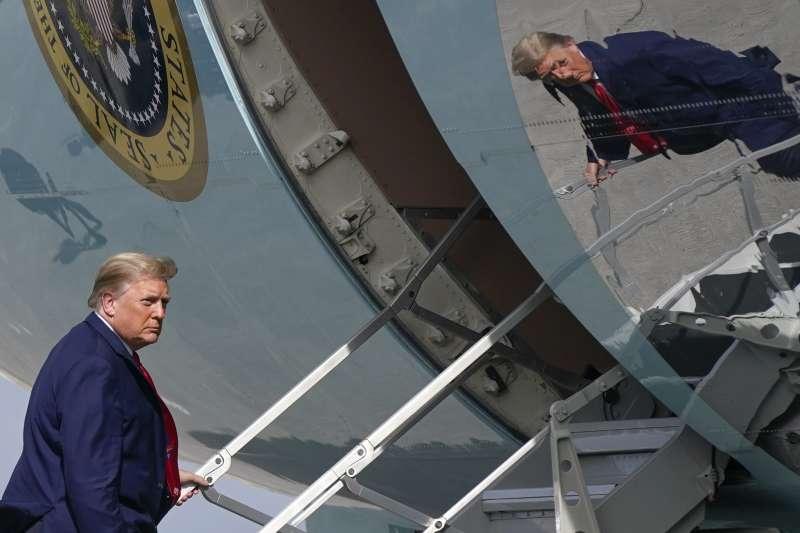 美國總統川普將在2021年1月20日卸任(AP)