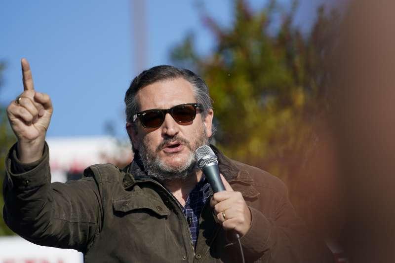 美國德州聯邦參議員克魯茲(Ted Cruz)(AP)