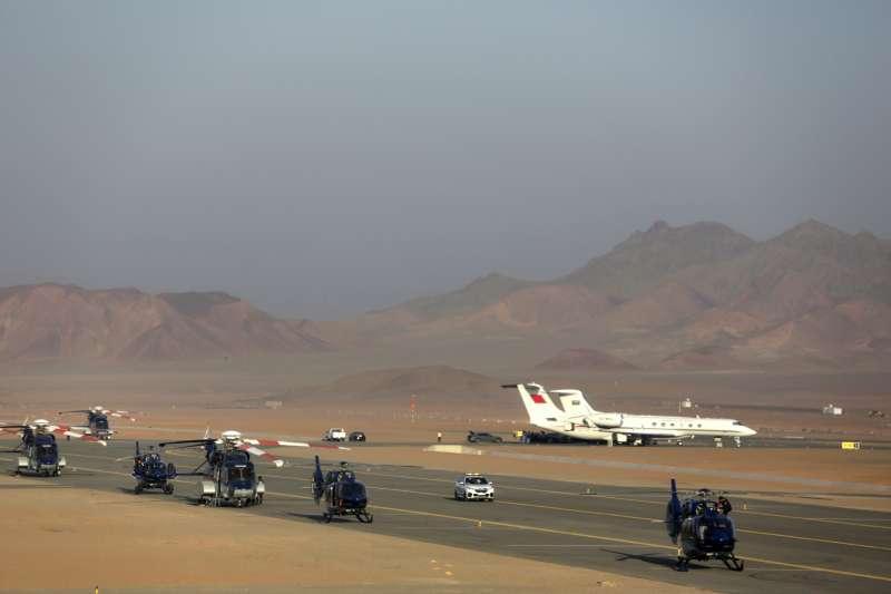卡達斷交風波。2020年1月5日沙烏地阿拉伯解除自2017年7月至今對卡達的海陸空大封鎖。(AP)