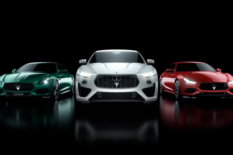 「Be Audacious」無懼困境、勇於突破,Maserati 嶄新紀元從此啟動。(圖/Maserati提供)