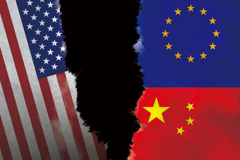 《中歐投資協定》趕在2020年底最後一刻完成談判,未來美、中、歐3方局勢將更加撲朔迷離。(新新聞後製)