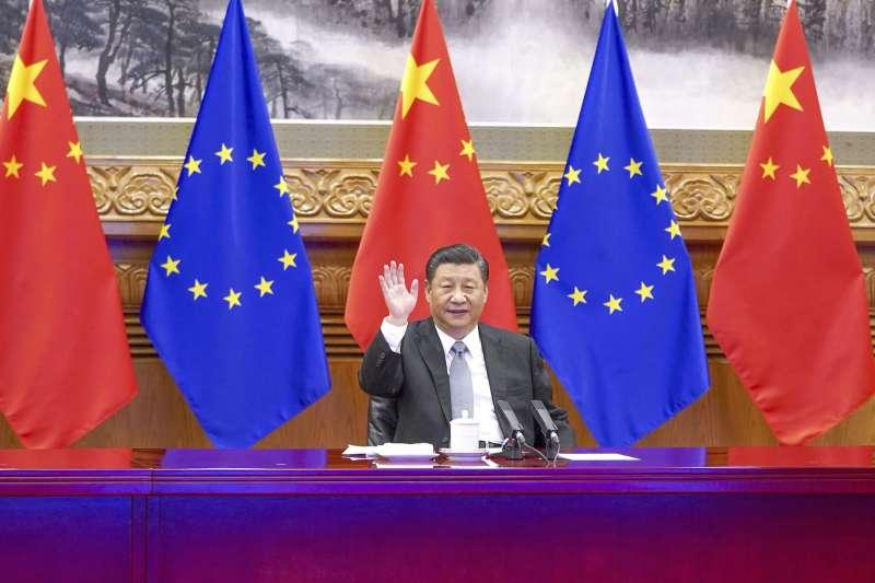 《中歐擴大投資協定》在2020年底最後一刻完成談判。(美聯社)