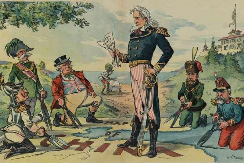維持中國主權獨立與領土完整,是美國「門戶開放」政策的精神核心。(照片來源:美國國會圖書館/許劍虹提供)