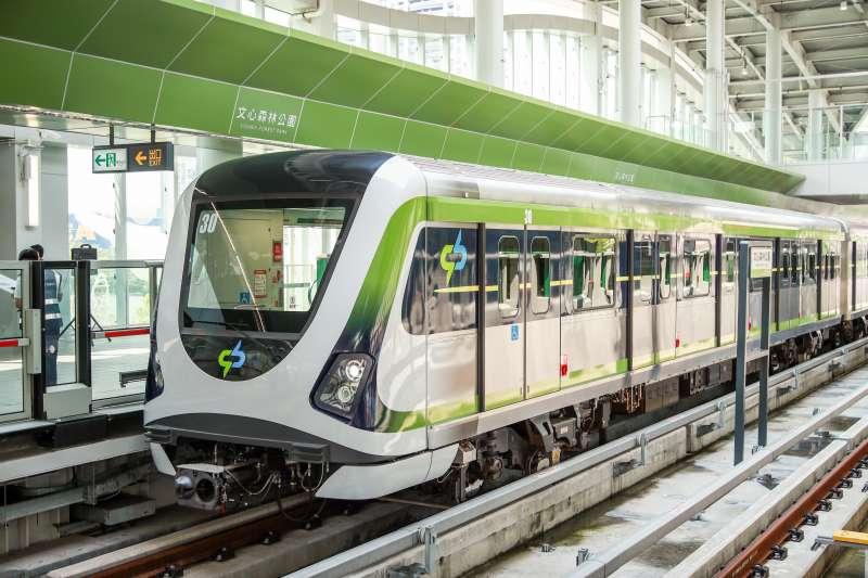 盧秀燕宣布中捷綠線3/25恢復試營運 4/25正式通車。(圖/台中市政府)