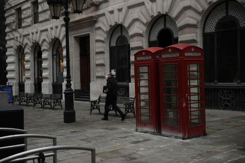 國際會計師事務所普華永道(PwC)預估,2021年倫敦恐面臨30萬人口外移,迎來逾30年來首次人口下跌。(AP)