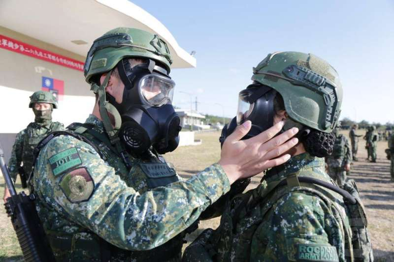 20210107-269旅參訓官兵均獲得JOTE臂章(右臂上)。(取自軍聞社)