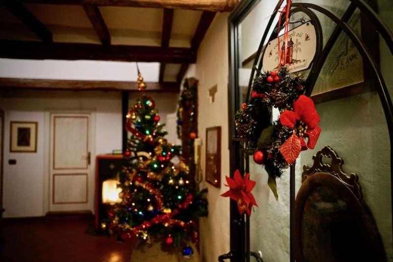 義大利家庭聖誕裝飾  (曾廣儀攝)