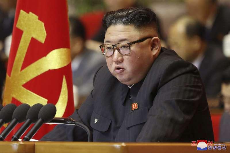 北韓(朝鮮)國務委員會委員長金正恩(AP)