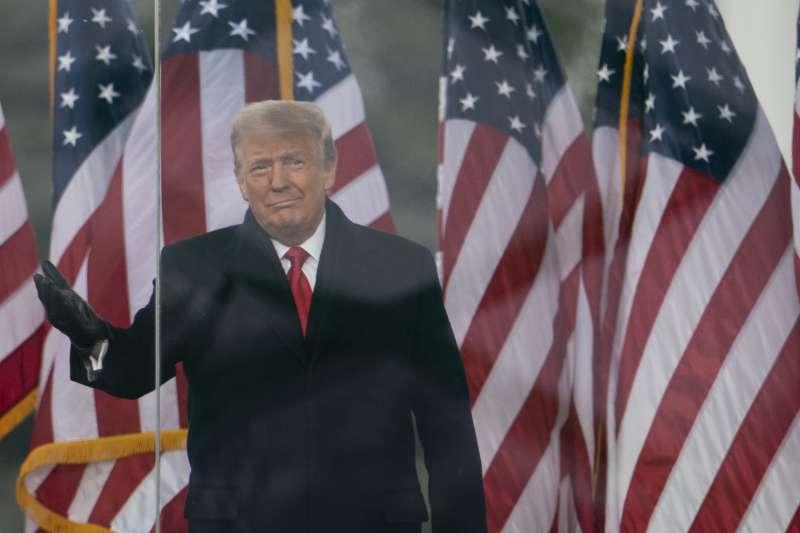 2021年1月6日,川普在華府舉辦「搶救美國大會」(AP)