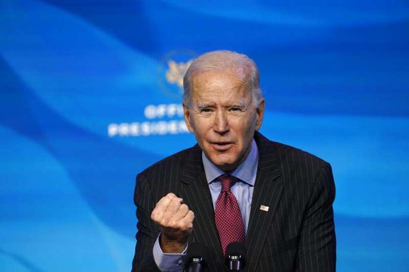 美國候任總統拜登陣營官員表示,拜登就任後將繼續支持和平解決兩岸議題,以符合台灣人民願望與最大利益。(資料照,AP)