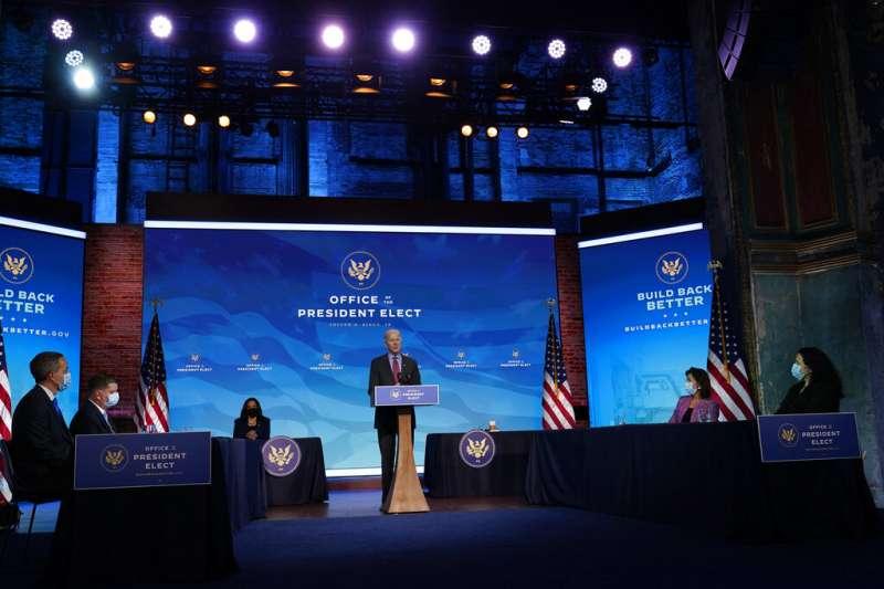 美國候任總統拜登8日公開白宮國家安全會議(以下簡稱「國安會」)全新陣容