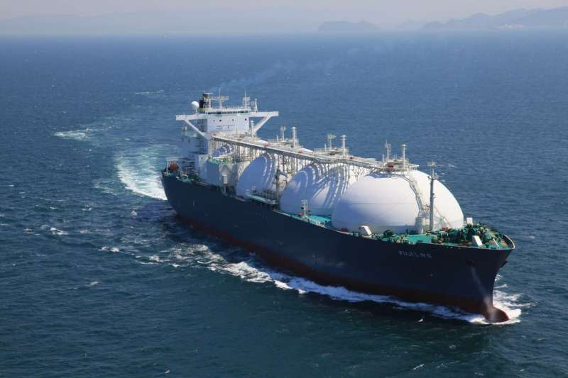 Fuji LNG船。(示意照,台灣中油提供)