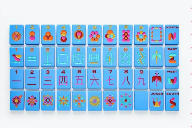 美國公司「The Mahjong Line」推出「改良版麻將」,遭華裔網友砲轟而火速道歉。(擷取自Instagram@themahjongline)