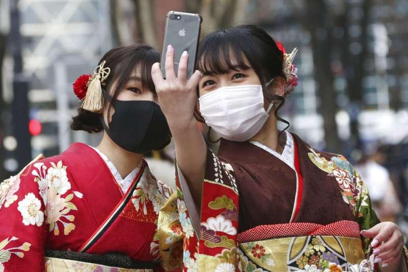 日本新冠疫情肆虐。(美聯社)