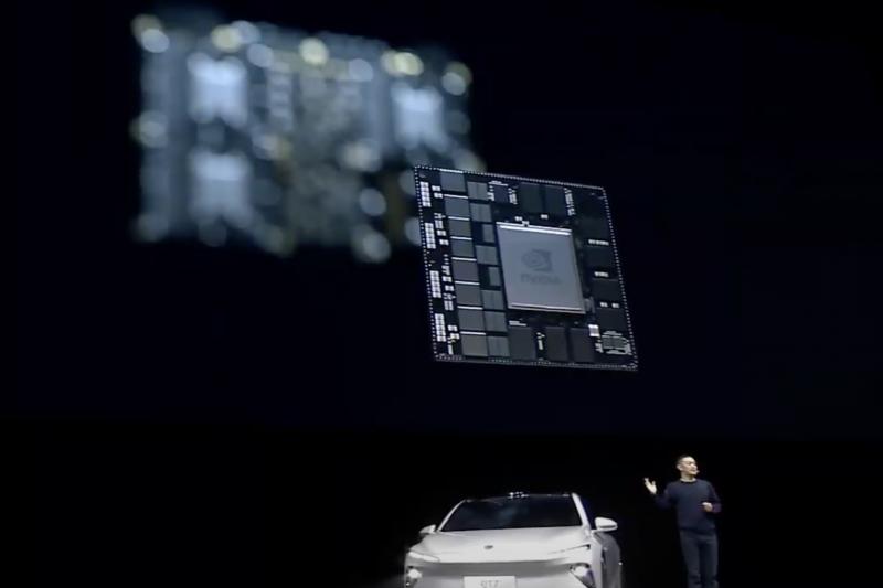 蔚來汽車攜手 NVIDIA 共同打造新一代自動駕駛電動車。(NVIDIA提供)