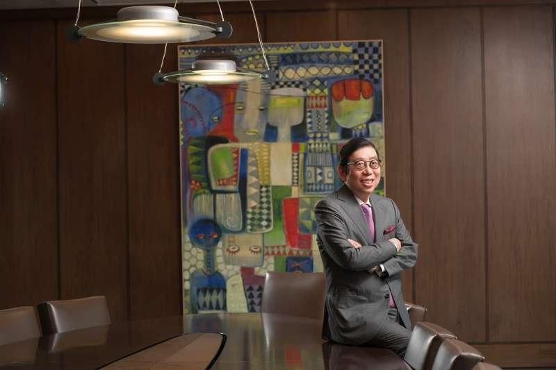 富邦金控連續十年榮獲《The Asset(財資)》「最佳ESG企業白金獎」,富邦金控董事長蔡明興表示將持續致力落實企業永續經營理念。(富邦金控提供)