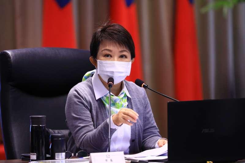 台中市長盧秀燕曾調查稅務機關的超徵情形,發現有三分之一來自於惡意查稅。(圖/台中市政府)