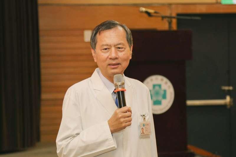 許惠恒再一年就要退休,却意外成北榮院長黑馬。(翻攝自台中榮民總醫院臉書)