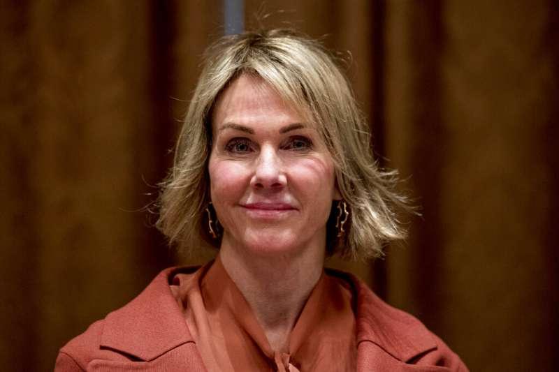 美國駐聯合國大使克拉夫特取消來台,但和總統蔡英文視訊。(美聯社)