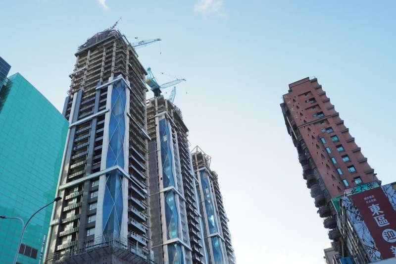 根據北市府資料,自2017年7月實施現行的建商囤房稅(前3年稅率1.5%)以來,超過7成以上房屋都能在1年內售出。(資料照,林瑞慶攝)