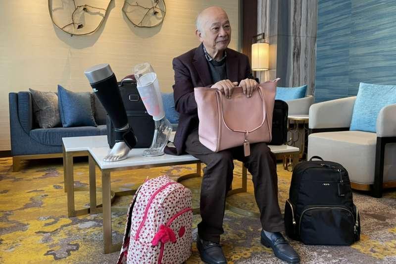 威宏-KY董事長洪永裕樂觀看待併購效益,認為今年威宏受新冠肺炎疫情影響將減弱,再加進新購併事業的挹注,營運可望重回2019年表現。(林哲良攝)