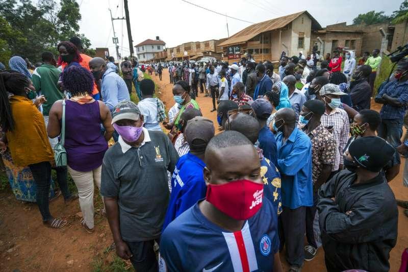 烏干達大選1月14日登場。(美聯社)
