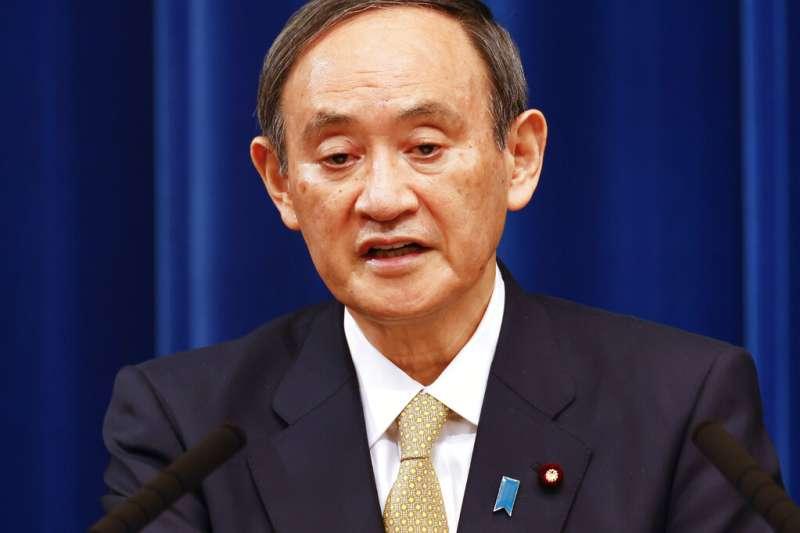 日本首相菅義偉長子菅正剛捲入不法宴請風波。(美聯社)