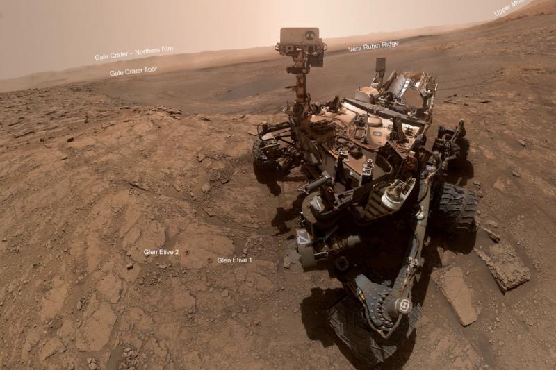 NASA火星探測器「好奇號」。(截自NASA)