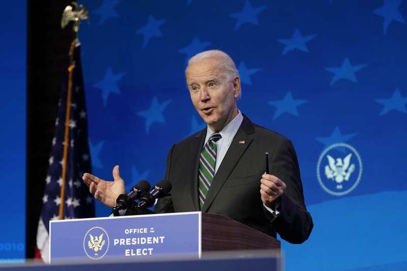美國第46位總統拜登(Joe Biden)(AP)