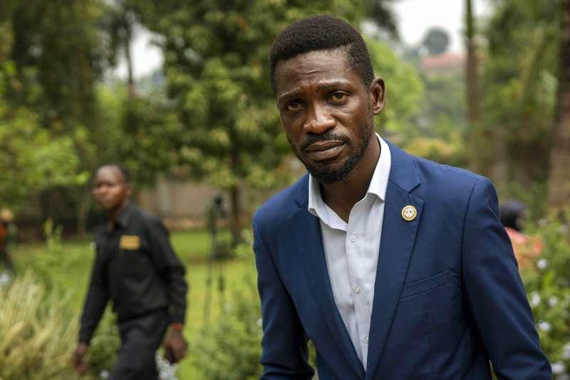 烏干達反對派領導人鮑比韋恩(Bobi Wine)(AP)