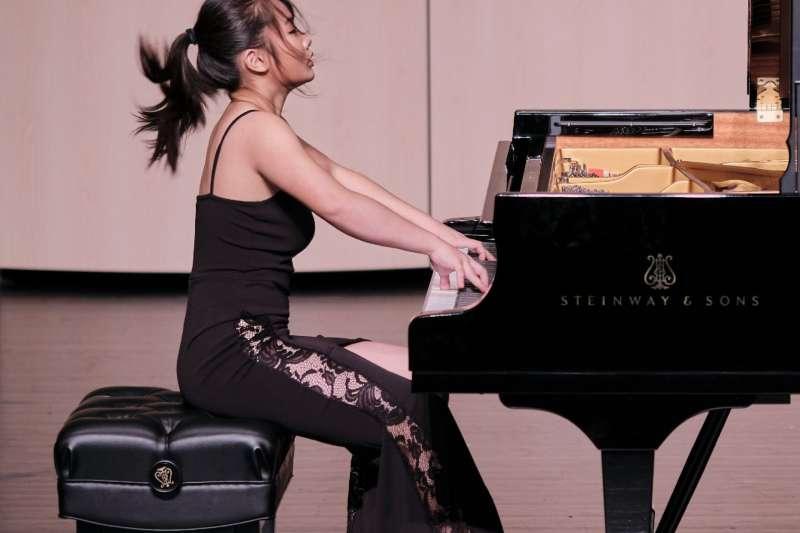 2020新北市樂壇新星林薇鋼琴獨奏會,精湛演出廣受好評。(圖/新北市文化局提供)