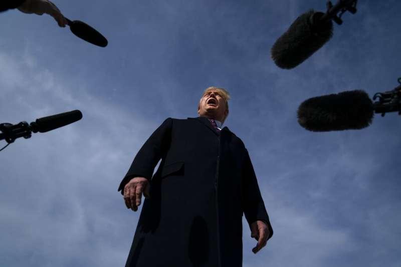 美國總統川普終於要卸任了。(美聯社)