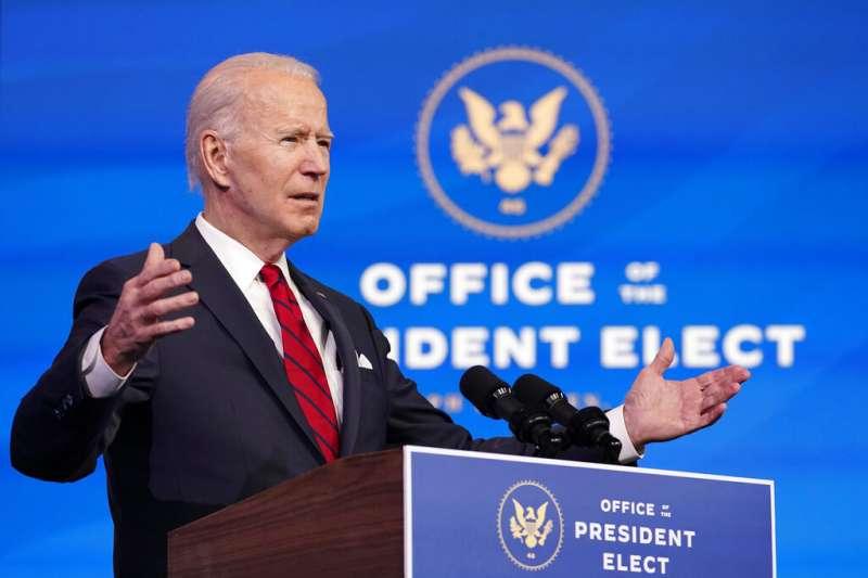 美國候任總統拜登將正式就任美國總統,但台灣至今未取得就職典禮邀請函。(資料照,美聯社)