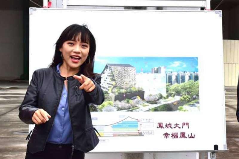無黨籍高雄市議員黃捷(見圖)罷免投票進入最後倒數。(資料照,取自黃捷臉書)