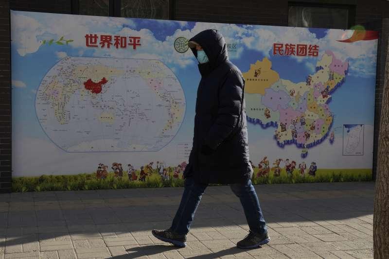 2021年1月19日,美國國務院宣布認定中國政府對新疆維吾爾人進行「種族滅絕」(AP)