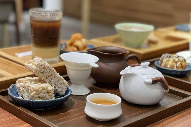 透過茶點和盛裝器皿的挑選設計,展現不同時期背景的飲食風情。(圖/一號糧倉提供)