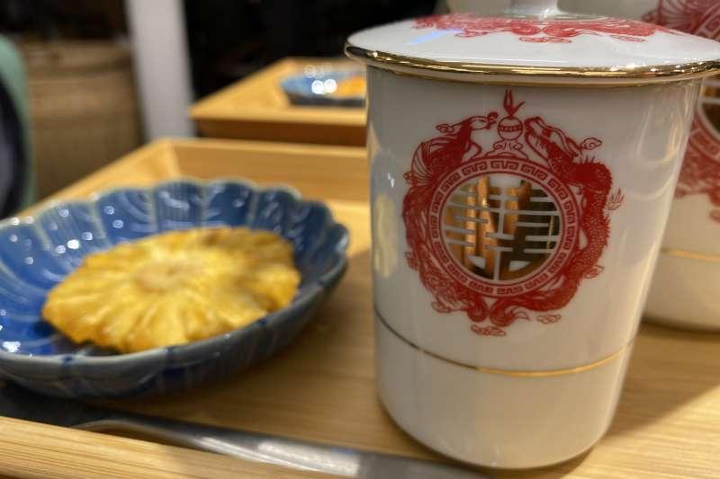 「糧倉糧茶」提供茶食和下午茶,延續歷史的文化與意涵。(圖/一號糧倉提供)