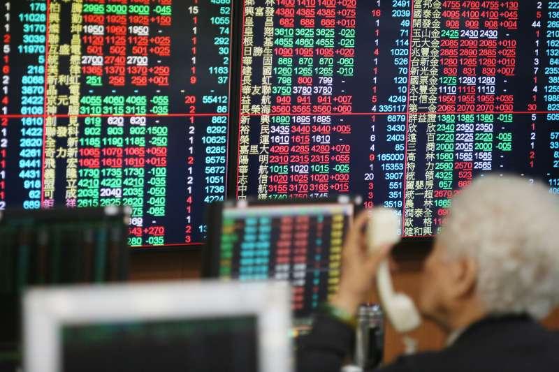 20210125-台北股市。(柯承惠攝)