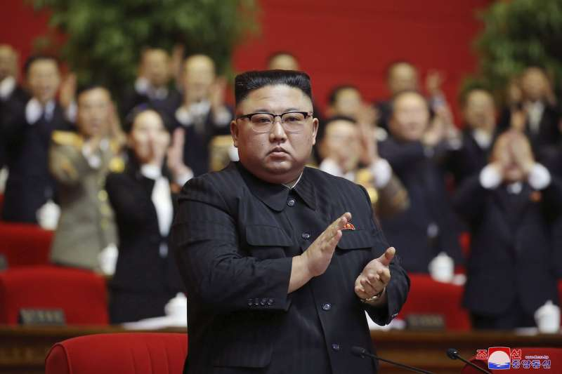 2020年1月,北韓領導人金正恩在勞動黨第八次全國代表大會被推舉為總書記。(AP)